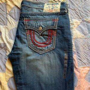 NWT True Religion blues jeans